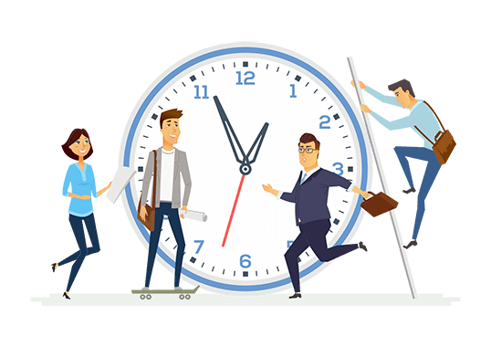 outsourcing saves time